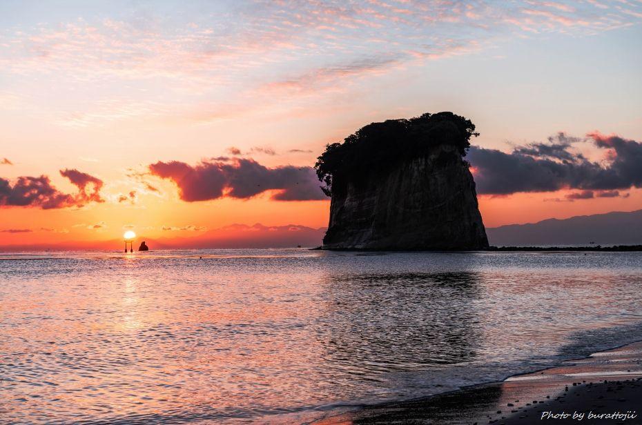 2014.12.28見附島朝景5