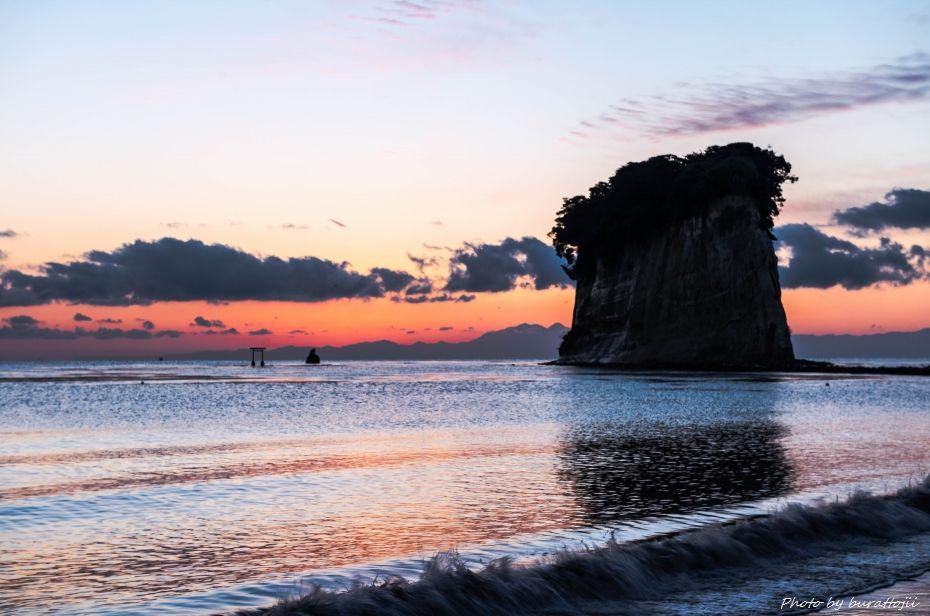 2014.12.28見附島朝景4