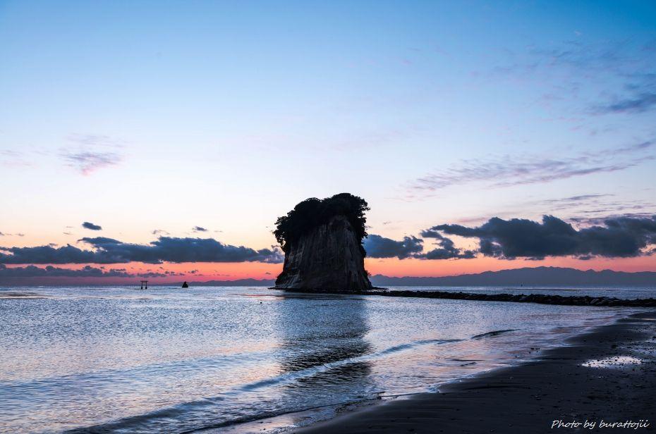 2014.12.28見附島朝景3