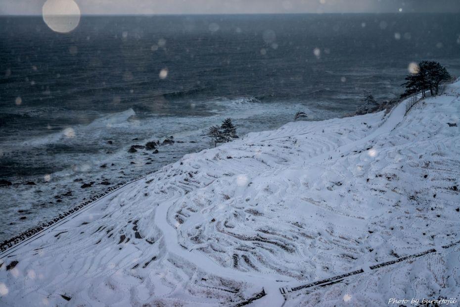 2015.01.02白米千枚田の雪景色7