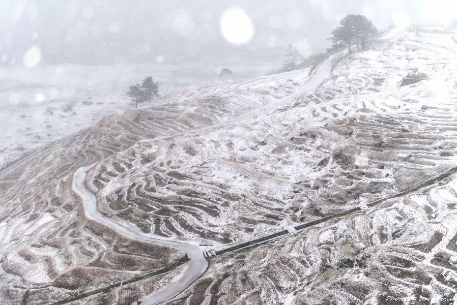 2015.01.02白米千枚田の雪景色1