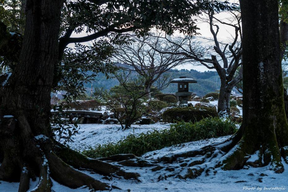 2015.02.14兼六園の朝12