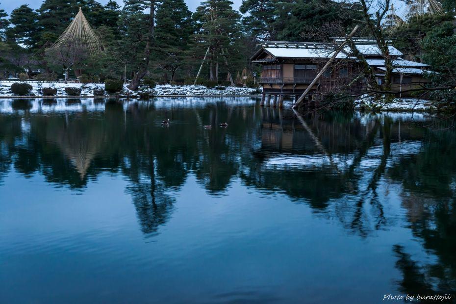 2015.02.14兼六園の朝10