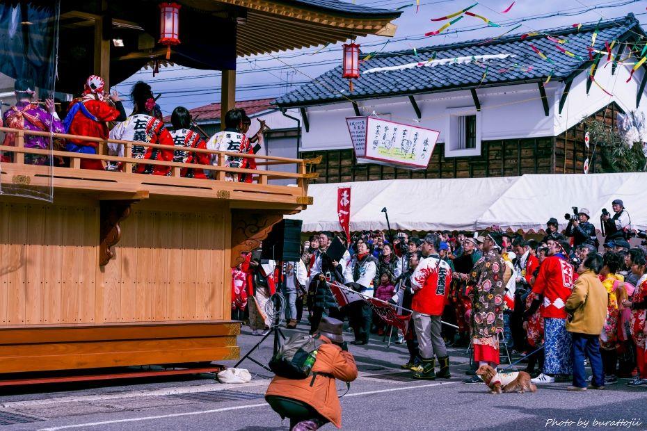 2015.02.22勝山左義長祭り2