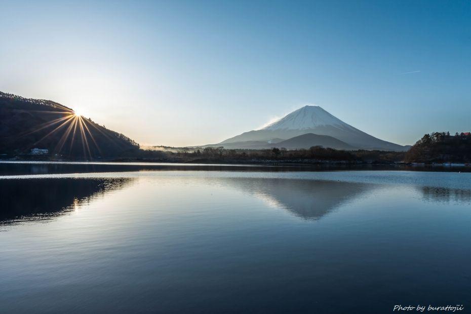2015.02.27精進湖の早朝2