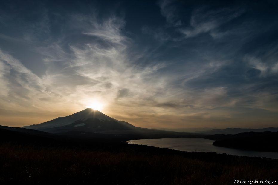 2015.02.28山中湖の昼から夜へ8.1651