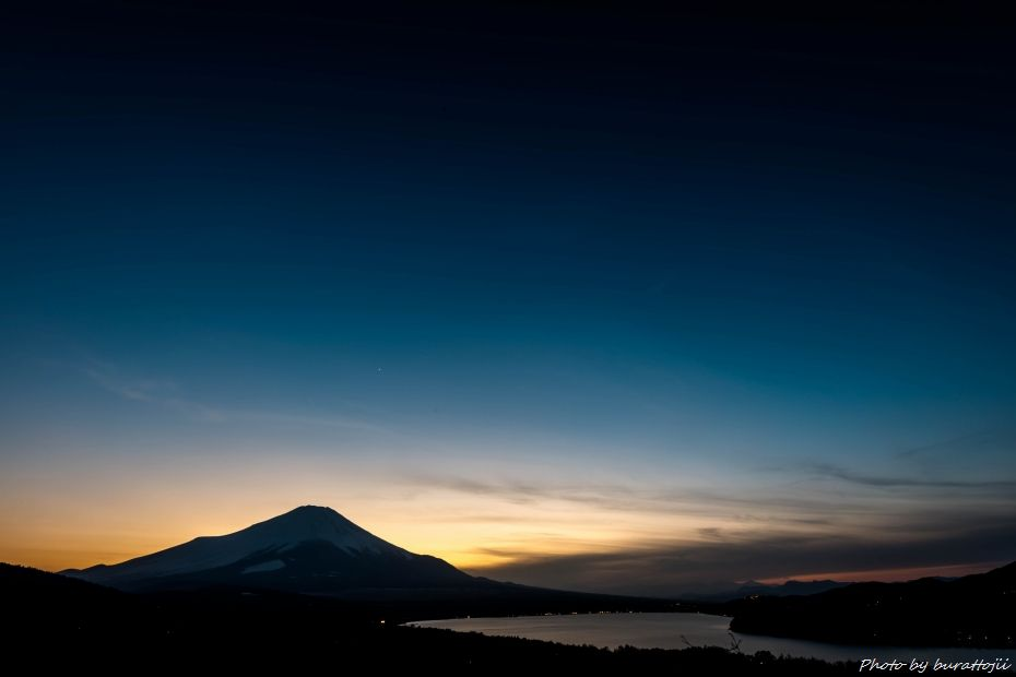 2015.02.28山中湖の昼から夜へ11.1759