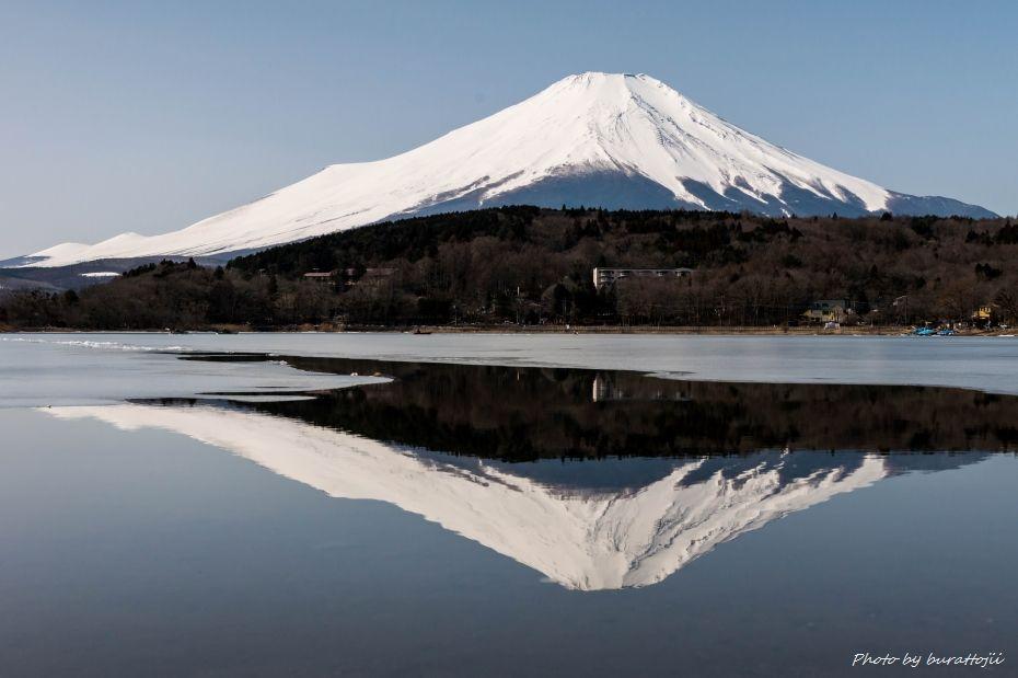 2015.02.28山中湖の昼から夜へ1