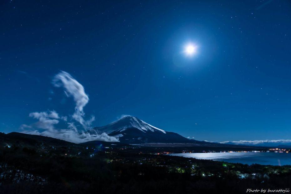2015.03.02山中湖パノラマ台の夜景4.0123