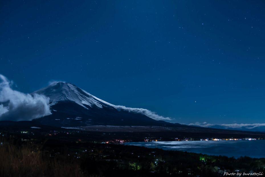 2015.03.02山中湖パノラマ台の夜景2.0058