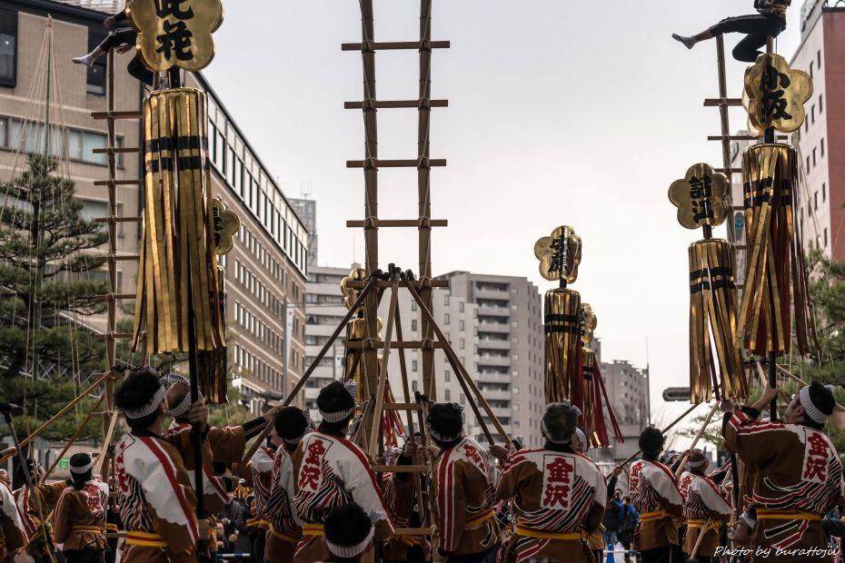 2015.03.14金沢駅郷土芸能3