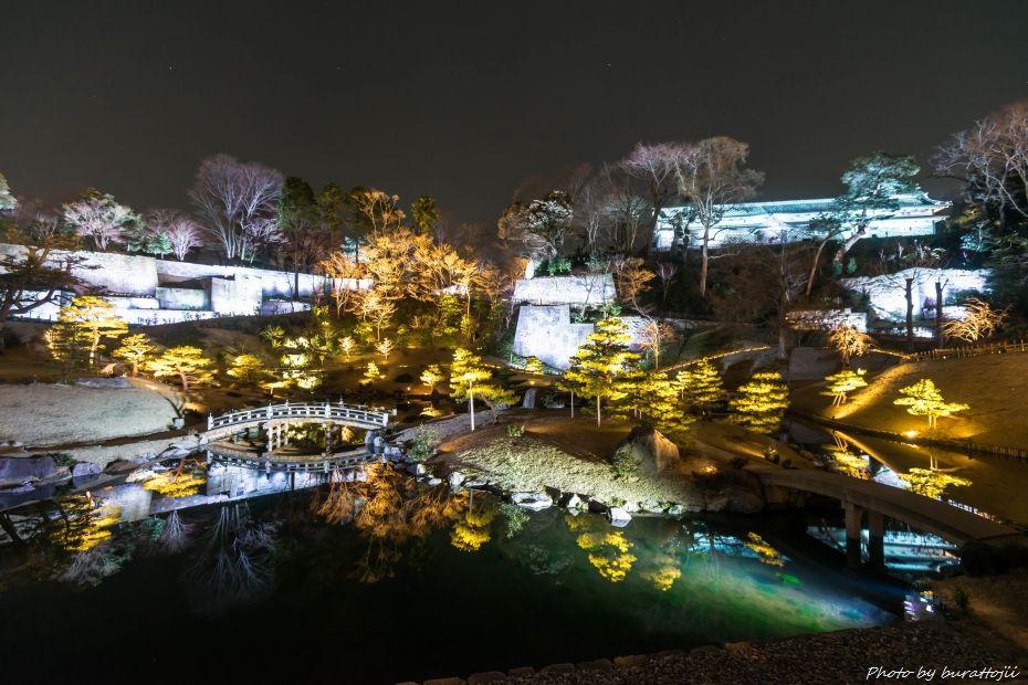2015.03.28玉泉院丸庭園ライトアップ2