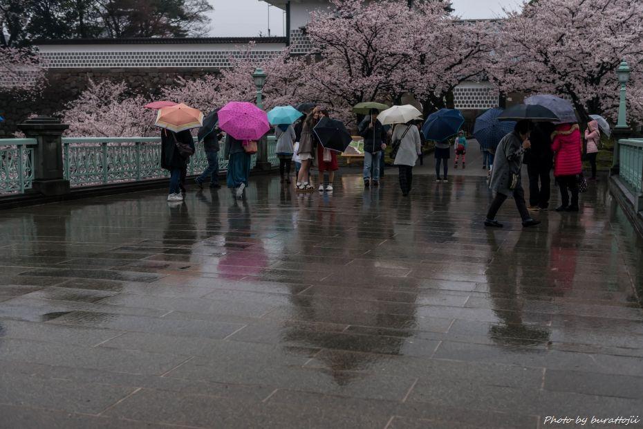 2015.04.06雨の金沢城2
