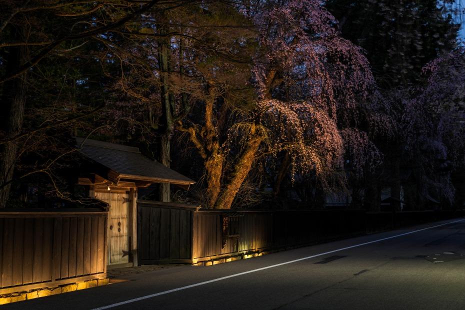 2015.04.21角館ライトアップ2