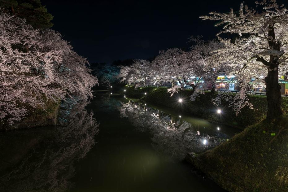 2015.04.23弘前さくらまつり夜9