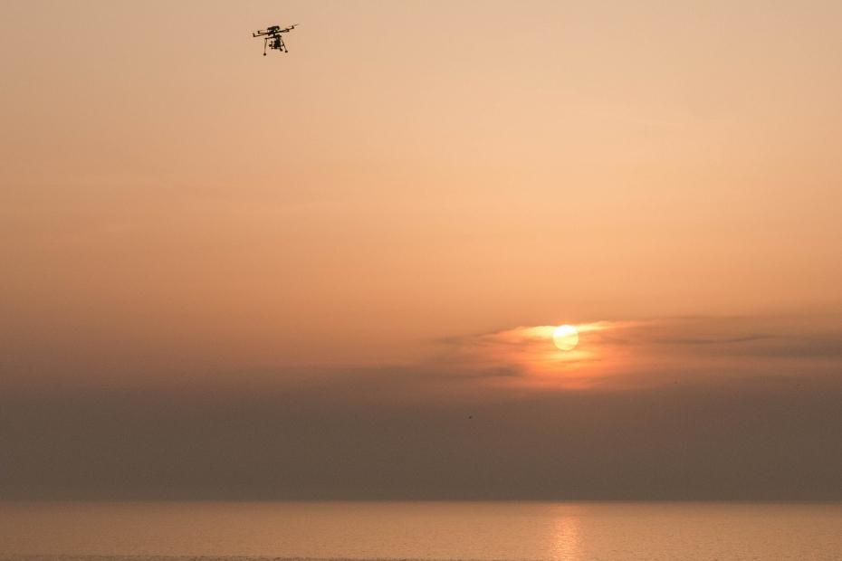 2015.04.30十六羅漢岩からの夕陽3