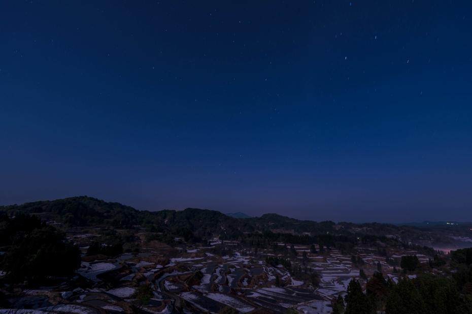 2015.05.02星峠の星空と夜明け1