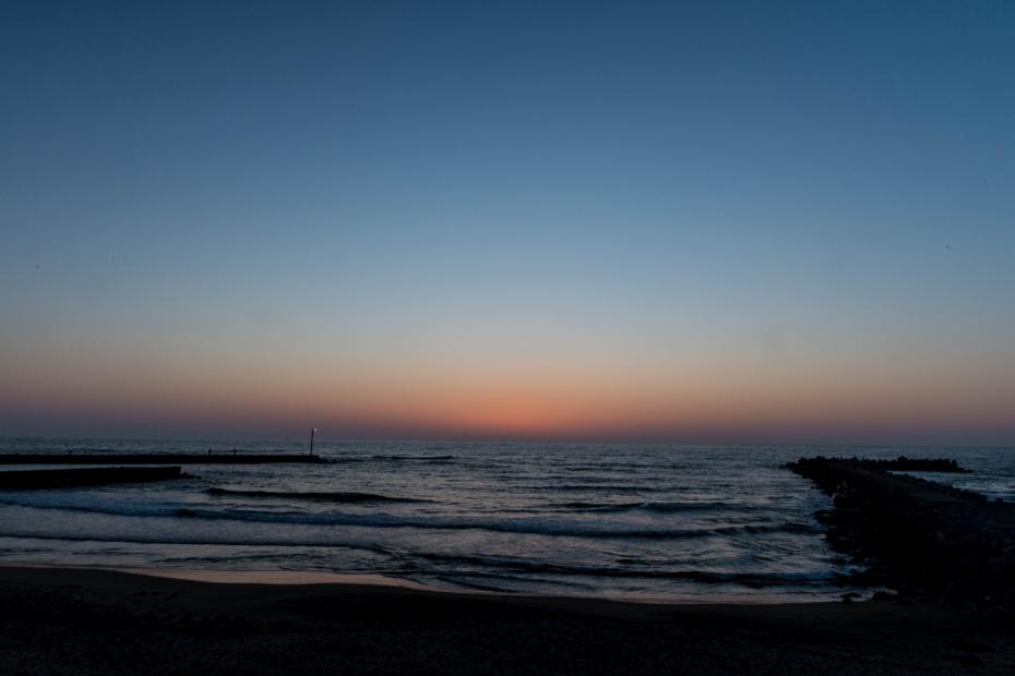2015.05.05内灘海岸夕日5.1850