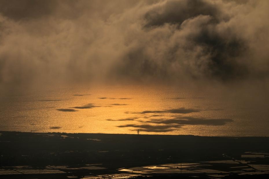 2015.05.08宝達山から夕陽2.17.12