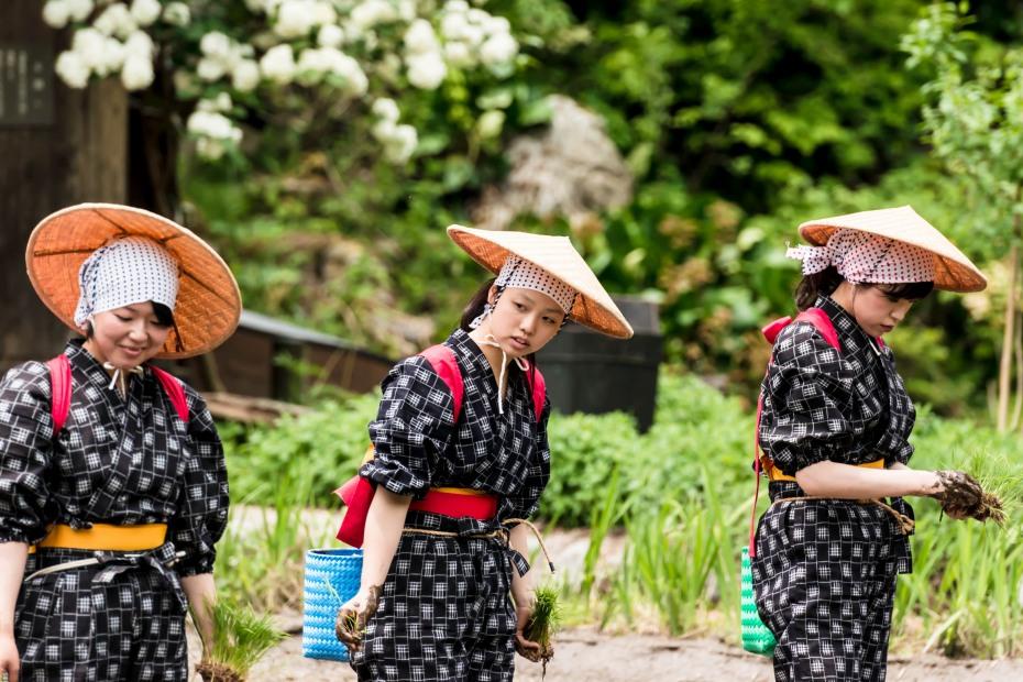 2015.05.25白川郷田植えまつり12