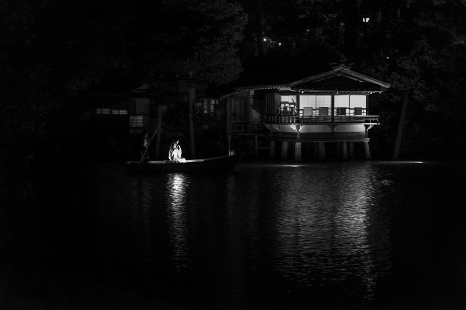 2015.06.06兼六園和舟から演奏7