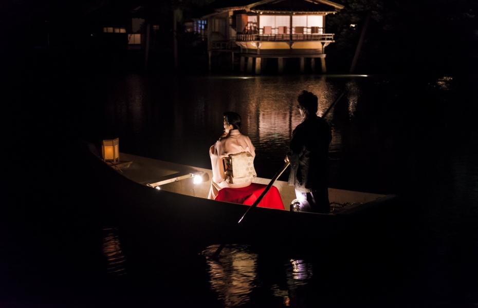 2015.06.06兼六園和舟から演奏6