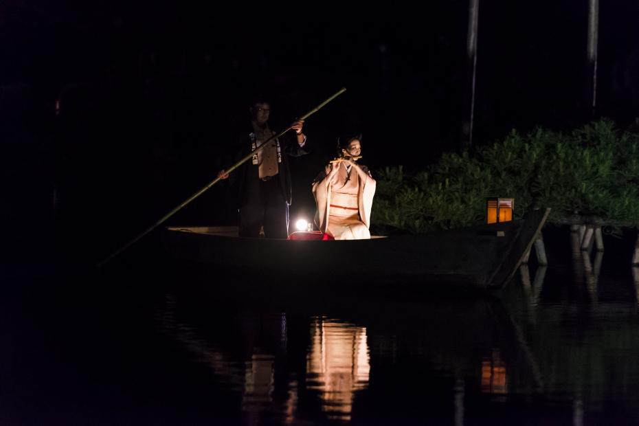 2015.06.06兼六園和舟から演奏3