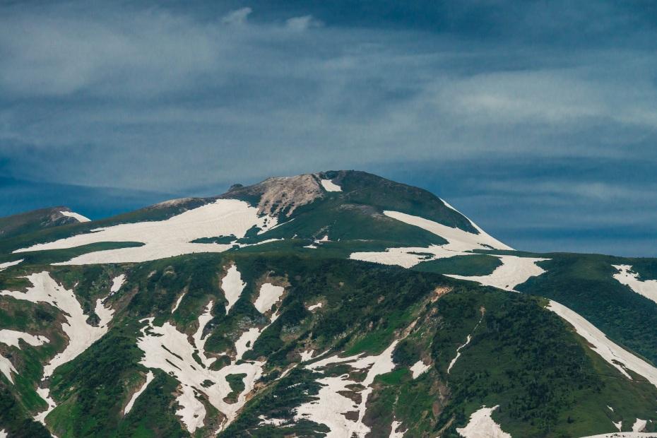 2015.06.11チブリ尾根のブナ原生林と白山眺望33.御前峰