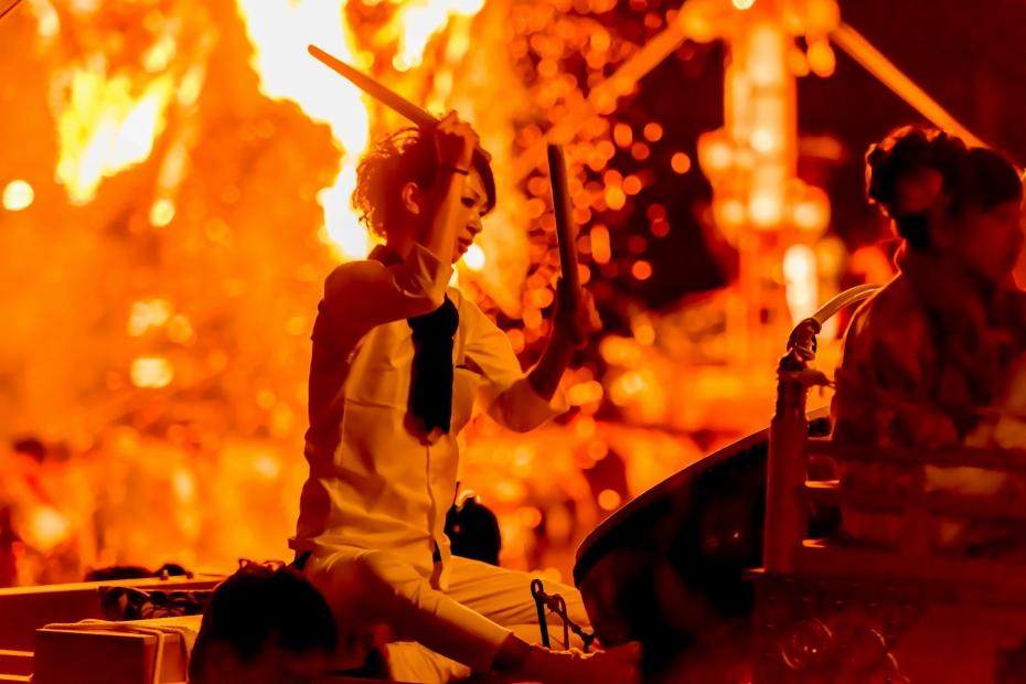 2015.07.03あばれ祭りキリコ乱舞39