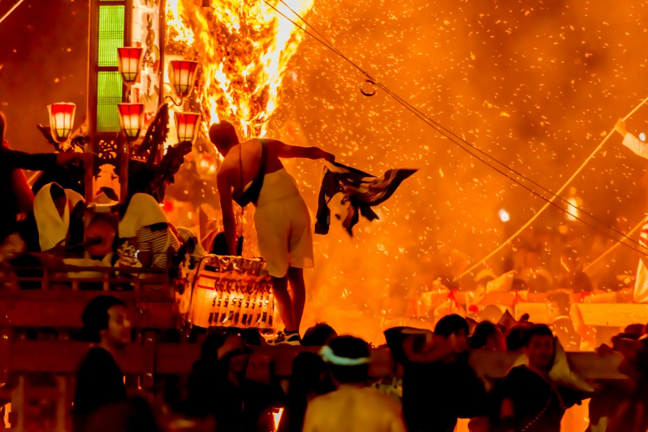 2015.07.03あばれ祭りキリコ乱舞16