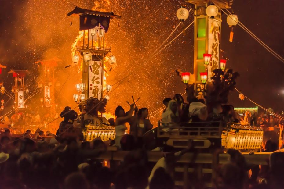 2015.07.03あばれ祭りキリコ乱舞13
