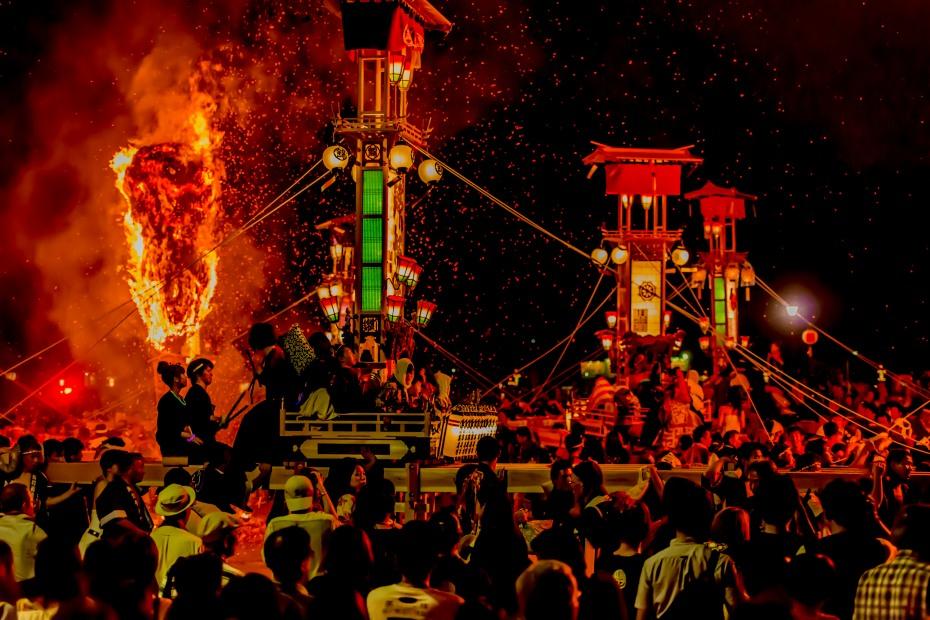 2015.07.03あばれ祭りキリコ乱舞12