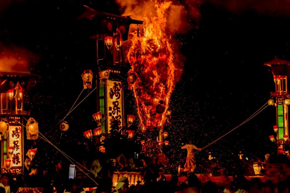 2015.07.03あばれ祭りキリコ乱舞11