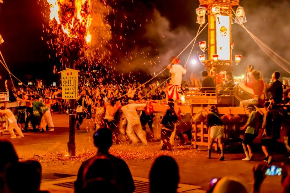 2015.07.03あばれ祭りキリコ乱舞8