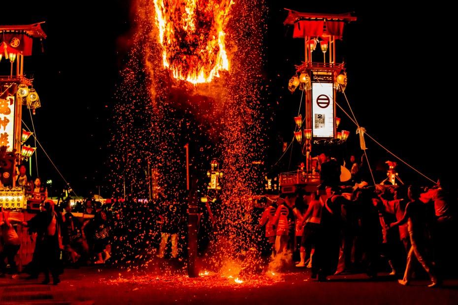 2015.07.03あばれ祭りキリコ乱舞6