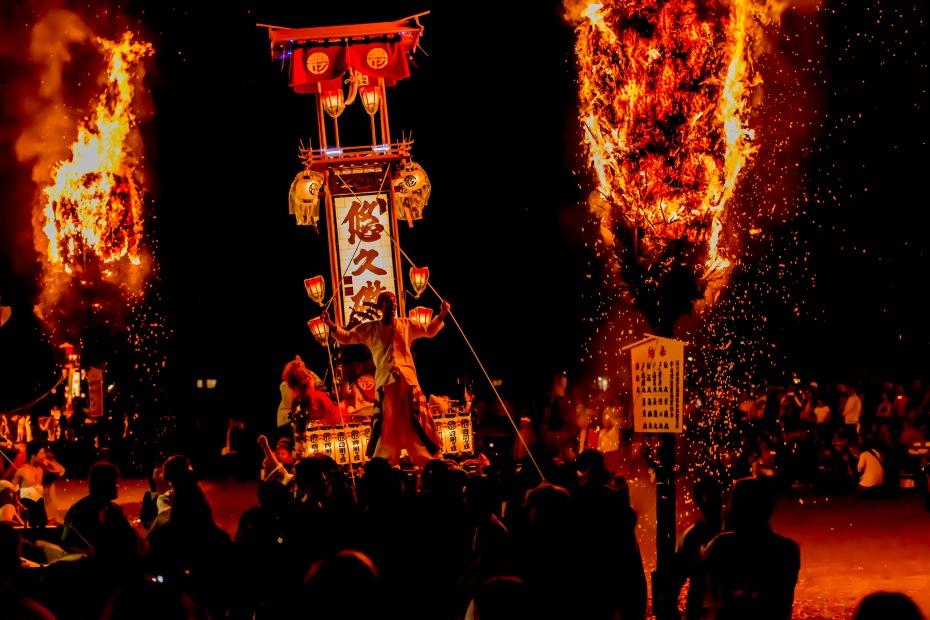 2015.07.03あばれ祭りキリコ乱舞4