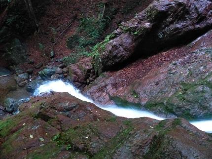 三段の滝_その3