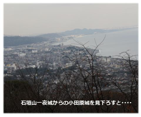 小田原城を見下ろそう