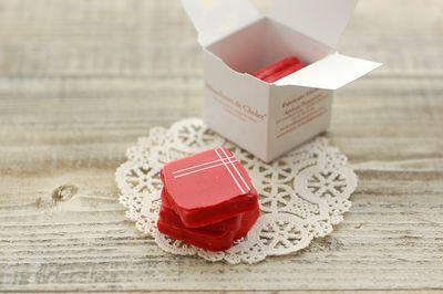 赤いチョコレート2