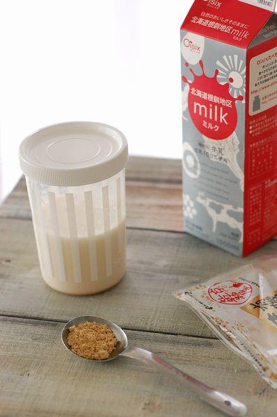 きなこ牛乳