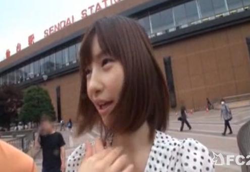 仙台駅近くでナンパした細身の超美人ギャルをホテルへ連れ込み鬼突きし何度もよがらせ連続絶頂させちゃう過激なハメ撮り動画