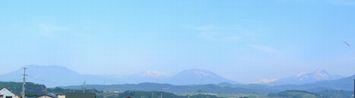 015西の山々