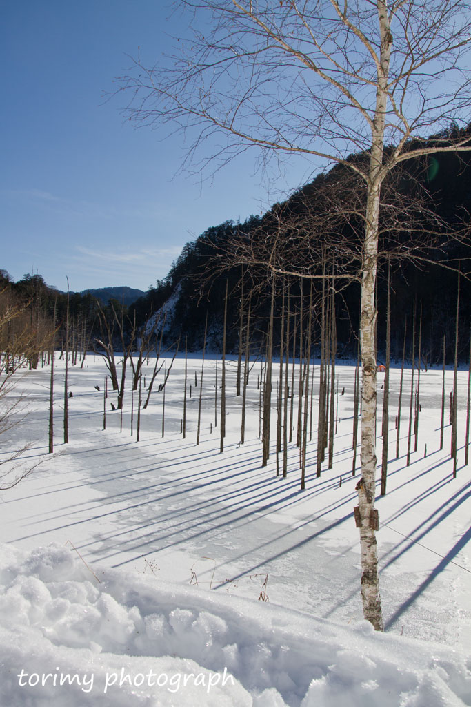 御嶽自然湖