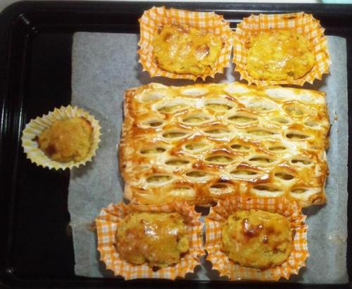 安納芋のスイートポテトとパイ