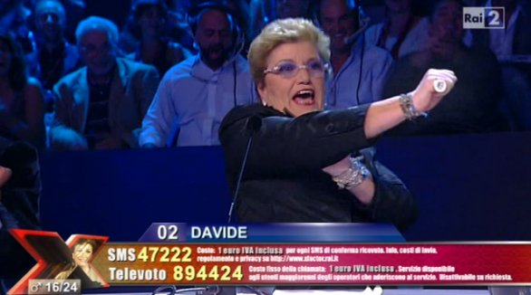 Mara Maionchi X-Factor