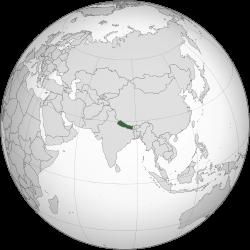 Nepal_(orthographic_ネパール