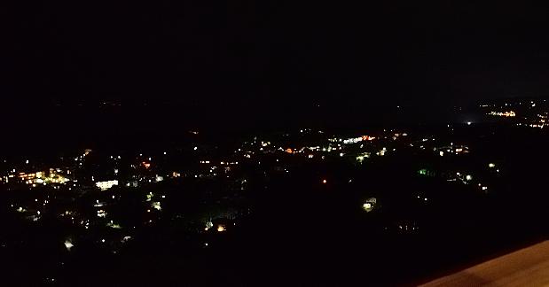 ⑳高原の夜景