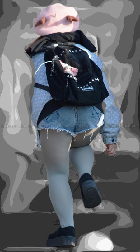■ ■ vol206-魅力のランガード丸出し美脚