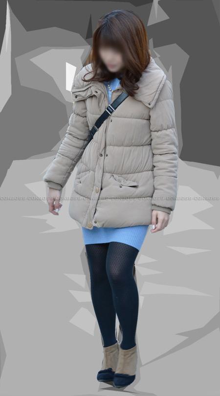 ■ ■vol205-魅力満点むっちり美脚の柄入りタイツ