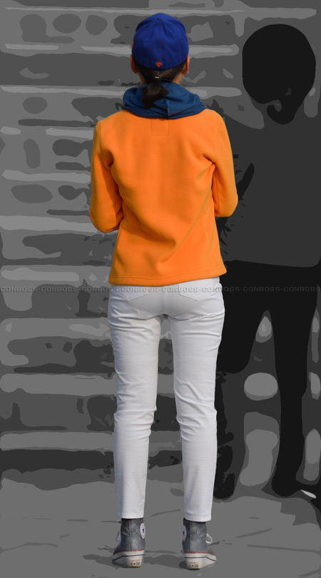vol214-ピチ尻食い込み魅力のホワイトパンツ